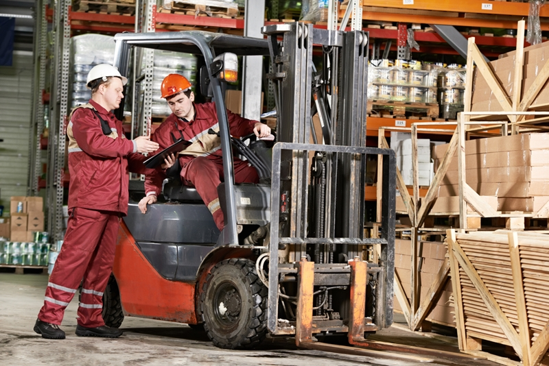 Forklifts in need of repair must be addressed.